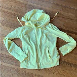 Yellow lululemon jacket